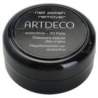 Odlakovače na nehty Artdeco nail polish remover waciki do zmywania paznokci bez acetonu (nail polish remover