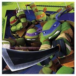 Amscan Serwetki urodzinowe wojownicze żółwie ninja - 33 cm - 20 szt.