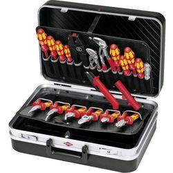 Walizka narzędziowa 00 21 20, (sxwxg) 480 x 175 x 370 mm, 20 narzędzi, kolor: czarny marki Knipex