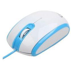 Gembird Mysz OPTO 1-SCROLL USB (MUS-105-B) Blue/White, kup u jednego z partnerów