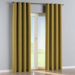zasłona na kółkach 1 szt., oliwkowy zielony, 1szt 130 × 260 cm, velvet marki Dekoria