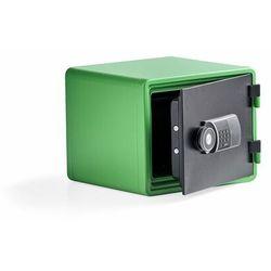 Szafa ognioodporna ADORE, 345x424x388 mm, zielony