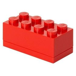MINI POJEMNIK LEGO 8 CZERWONY- LEGO POJEMNIKI, 40121736