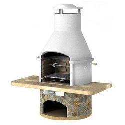 Grill betonowy z wędzarnią Rondo wersja 6 (grill ogrodowy)