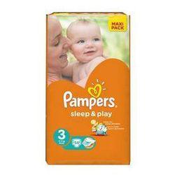 Pieluszki Pampers Sleep&Play rozmiar 3 midi 4-9kg, 58 szt., kup u jednego z partnerów