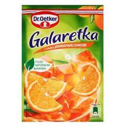 Galaretka o smaku pomarańczowym 77 g dr. oetker, marki Dr. oetker polska sp. z o.o.