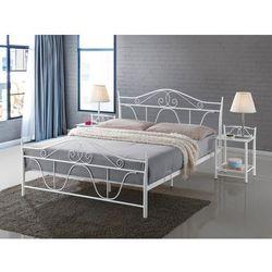 Łóżko denver 160x200 biały marki Wyprzedaż