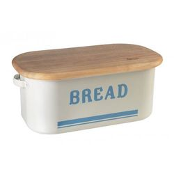 Jamie olivier Jamie oliver retro chlebak - pojemnik na pieczywo z deską - beżowy, kategoria: chlebaki