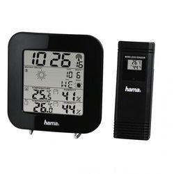 Stacja pogody HAMA EWS-200 Czarny (4047443410795)