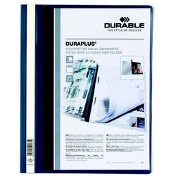 Skoroszyt prezentacyjny Durable Duraplus granatowy 257907