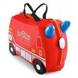 Jeżdżąca walizeczka TRUNKI Wóz strażacki Frank