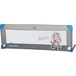 Barierka ochronna do łóżka Caretero SAFARI (Grey) z kategorii Zabezpieczenia do łóżeczek