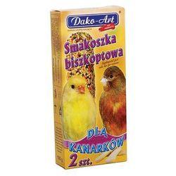 smakoszka - kolby biszkoptowe dla kanarków 2szt. wyprodukowany przez Dako-art