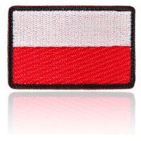 naszywka velcro flaga Polski standard 3,5 x 5,5 cm, czarne obszycie (NAS.FP35X55.ST) z kategorii naszywki i do