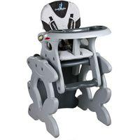 Krzesło do karmienia CARETERO ze stoliczkiem Primus szary + DARMOWY TRANSPORT!