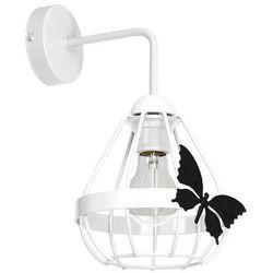 Milagro kago mlp4921 kinkiet lampa dziecięca 1x60w e27 biały mat / czarny mat (5902693749219)