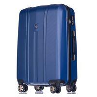 Puccini Średnia walizka  pc018 toronto niebieska - niebieski