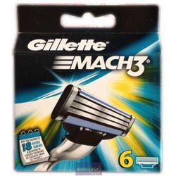 Gillette mach 3 nożyki 6szt od producenta Procter & gamble