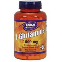 Now Foods L-Glutamina 1000mg 120 kaps.