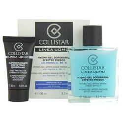 Collistar Man żel po goleniu + krem na dzień nawilżający do wszystkich rodzajów skóry z kategorii Ko
