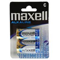 2 x bateria alkaliczna Maxell Alkaline LR14/C (bateria elektryczna)