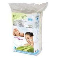 Płatki kosmetyczne KWADRATOWE z organicznej bawełny 60 szt Masmi