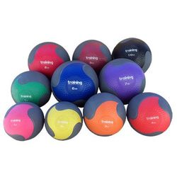 Piłka lekarska FITNESS PREMIUM 4 kg Training SHOW ROOM (czerwona), marki Allright do zakupu w Fitness.Shop.pl