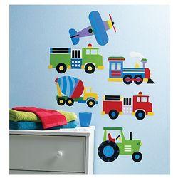 Wallies Naklejki Pociąg Samolot Ciężarówka z kategorii Pozostałe meble do pokoju dziecięcego