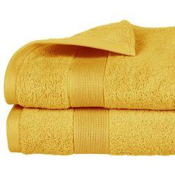 Atmosphera Ręcznik łazienkowy stworzony z bawełny w kolorze pomarańczowym (3560238359709)