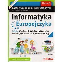 Informatyka Europejczyka. Podręcznik do zajęć komputerowych dla szkoły podstawowej, kl. 6.