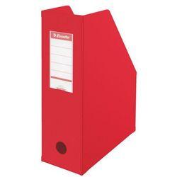Pojemnik pcv ścięty składany  a4/100mm, 5607 czerwony, marki Esselte