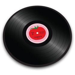 - żaroodporna podstawka okrągła vinyl - czerwona - czerwony marki Joseph joseph