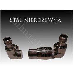 Zestaw zaworów grzejnikowych termostatycznych LUX prawy STAL NIERDZEWNA - oferta (056ed7ac6f13d3b2)