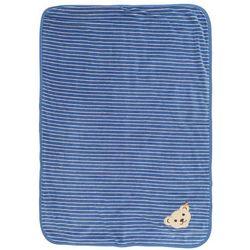 Steiff Collection NICKY BABY NEWBORNWINTER COLOR NICKY Kocyk do raczkowania federal blue (4056178547898)