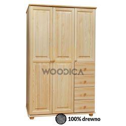 Woodica 08.szafa 3d4s 118x190x60