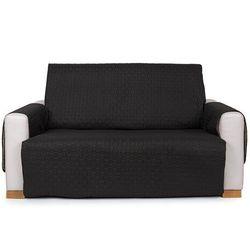 4Home Narzuta na kanapę 2-osobową Doubleface czarna/szara, 140 x 220 cm, 140 x 220 cm, 225980