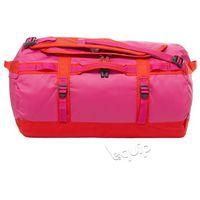 Torba podróżna The North Face Base Camp Duffel S II - fuchsia pink/fiery red