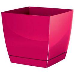Doniczka Coubi - Prosperplast (Kolor: Malina, Rozmiar: 210 x 210 x 192 - 6l) - produkt z kategorii- Doniczki i podstawki