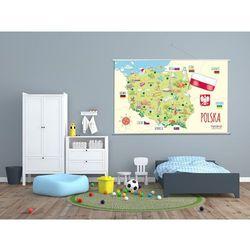 Mapa Polski - mapa naścienna - produkt dostępny w mamagama