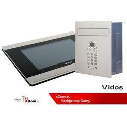 Zestaw jednorodzinny wideodomofonu . skrzynka na listy z wideodomofonem. monitor 7'' s561d-skp_m903s marki Vidos