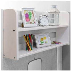TICAA Półka do łóżek piętrowych kolor biały - produkt z kategorii- Regały i półki