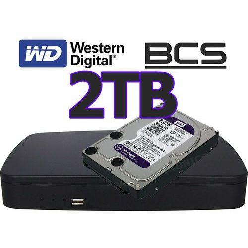 Rejestrator sieciowy IP BCS-NVR0801E + dysk 2TB - sprawdź w wybranym sklepie