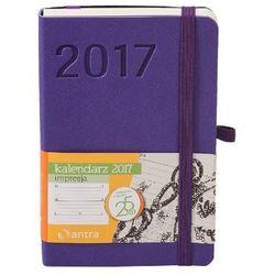 Kalendarz kieszonkowy 2017. Impresja. A6. Fioletowy - sprawdź w wybranym sklepie