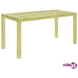 stół ogrodowy, 170x75,5x77 cm, impregnowana sosna fsc marki Vidaxl
