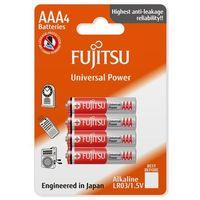 4 x bateria alkaliczna  universal power lr03 aaa blister marki Fujitsu