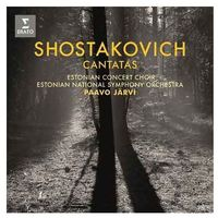 Szostakowicz: Cantatas (CD) - Estonian National Symphony Orchestra, Pavvo Jarvi