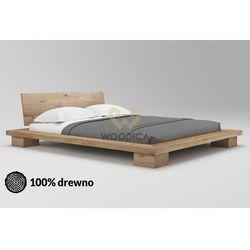Łóżko dębowe cerasus 01 120x200 marki Woodica