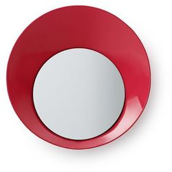 Wieszak ready hook z lusterkiem 20 cm, czerwony, marki Normann copenhagen