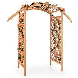 puerta del sol pergola łuk ogrodowy lite drewno marki Blumfeldt