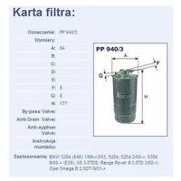 Filtr paliwa PP 940/3